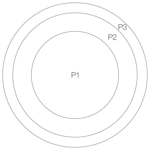 The 3P model.